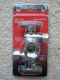 Shut-off Valve Dual Outlet Oakton, 22124