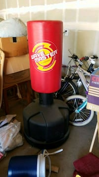 Stand up punching bag Stockton