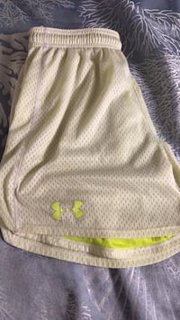 White and yellow under armour shorts Honolulu, 96813