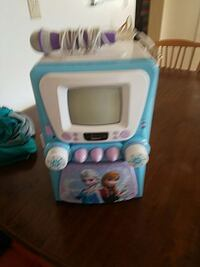 toddler's teal and white disney frozen crt tv Wheeling, 26003