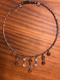 Pink beaded choker Annandale, 22003