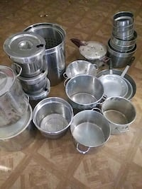 Pots and pans for restaurant