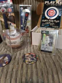 Chicago Cubs collectables lot