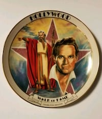 Charlton Heston Hollywood Walk Of Fame Plate  Sioux Falls, 57106