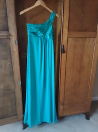 Teal Green Maxi Dress - size 4 PORTLAND