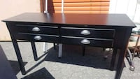 Accent table with 4 drawers Brampton