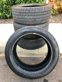 1 Set of Cooper CSS Ultra Touring 235 45/R18 tires