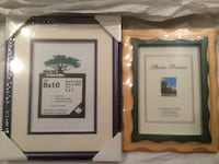 REDUCED!! GIFT IT! NEW 2 photo frames for a low price! Richmond, V6X 2V7