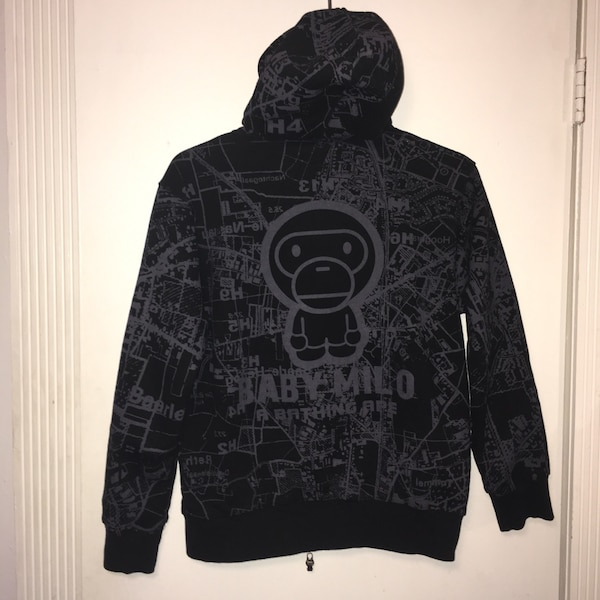 Used Baby Milo bape hoodie for sale in New York - letgo 1ffd6c43d27d