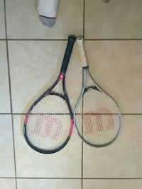 Tennis rackets 1 adult 1 youth Wilson Myrtle Beach, 29588