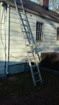 Werner 14 foot aluminum ladder and werner ladder j Portsmouth