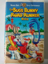 The Bugs Bunny Road Runner movie vhs Baltimore