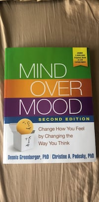 NEW Mind over mood ~ book Toronto, M5A