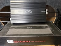 BRAND NEW DD full range amplifier. 2800wrms Hazleton