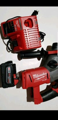 red and black Milwaukee cordless power drill Arlington, 22204