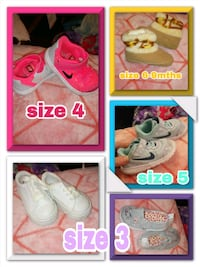 Infant to toddler shoes 845 mi
