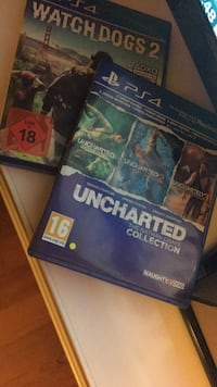 Sadece takas(watch dogs2 ve uncharted colletction ps4 9494 km