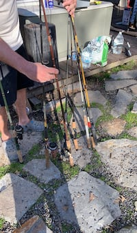 Really old fishing poles