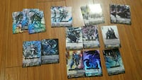 Selling my tcg cardfight vanguard cards asap