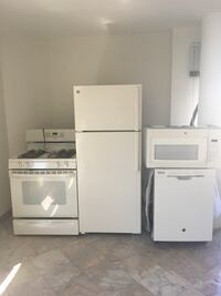 Brand new ivory refrigerator,and dishwasher for sale matching microwave and stove Washington, 20005