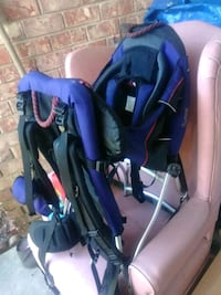 baby's purple and black stroller Pineville