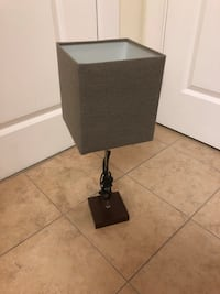 Table lamp with brown shade Alexandria, 22314