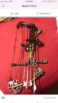 Brown and black compound bow screenshot Deatsville, 36022
