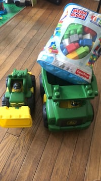 green and yellow plastic toy car Silver Spring, 20906