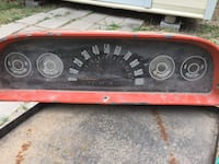 1969 CHEVY pickup complete speedometer cluster
