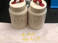 Rae Dunn FaLaLa Canisters St Catharines, L2N 3S7