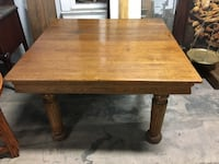 Antique oak table 2 leaves circa 1910 Whittier, 90602