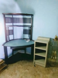 brown wooden desk with hutch Lake Charles, 70611