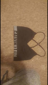 black and gray Calvin Klein sport bra Fort Erie, L2A 2T9