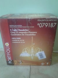 5- Light  Chandelier  57 km