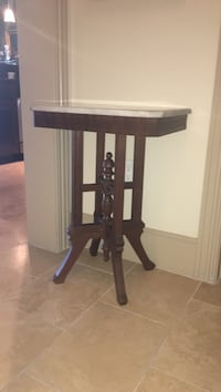 Used Marble Victorian Table For Sale In Dallas Letgo