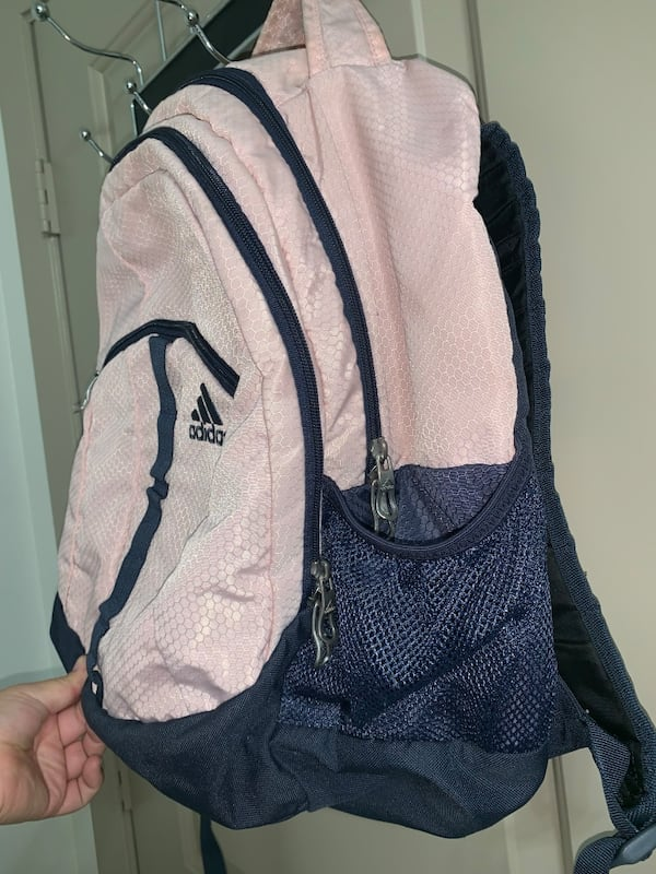 Adidas girls backpack 460c892b-c022-4750-875b-f3e09fa87b9e
