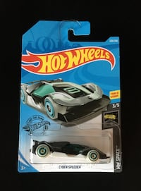 Hot Wheels Treasure Hunt Cyber Speeder Ajax