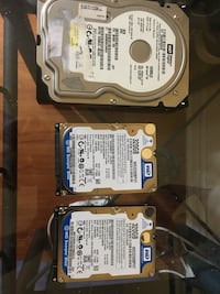 6 Computer hard drives Brampton, L6S 3J2
