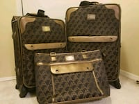 Brown and Bronze Luggage Set  College Park, 20740