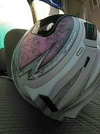gray and pink full-faced motorcycle helmet Lake Wales, 33853