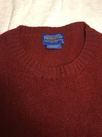 PENDLETON Red Wool Sweater US L / EU 52-54 / 3 Laurel, 20723