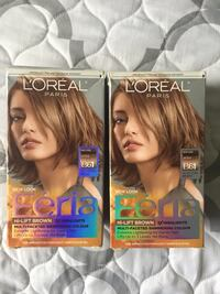 Hi-Lift Brown by L'Oréal Féria 2 boxes B61 sealed Springfield, 22150