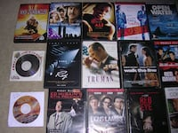 assorted-title DVD case lot of 15. WINCHESTER