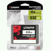 Kingston 512 gb ssd hdd sifir Birlik Mahallesi, 06610