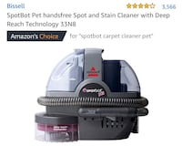 tBot Pet handsfree Spot and Stain Cleaner  Montclair, 91763