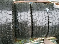 four vehicle tires Langley Township, V2Y 0P3