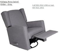 * new * Kidiway Anna Swivel Glider - Grey  Mississauga, ON L4T 3Y9, Canada