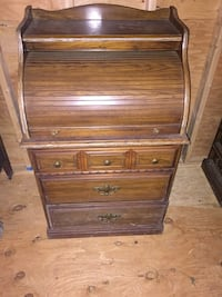 3 drawer roll top cabinet  Miller Place