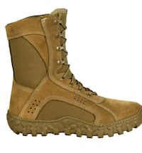 Vibram Rocky S2V Coyote Brown Boots 10.5 A