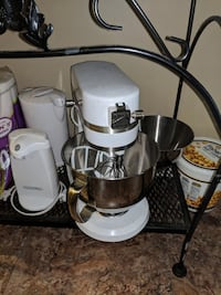 white and black electric kettle Frederick